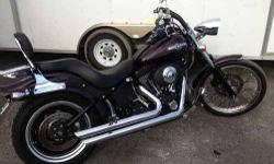 2006 Harley Davidson Night Train Maroon 23417 Miles 96cc Python Exhaust, High Flow Air Cleaner, Blacked out Front Forks, Detachable Back Rest w/ Rack, Custom Tail Lights Call our staff today at: 315-788-6900