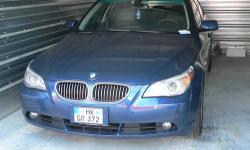 2007 BMW 530i 6 speed manual trans. Purchased in Germany in late 2007. This car is equipped with the winter and sport kit from the dealer. This car is very clean and has been stored its entire life. Never seen snow. This vehicle is titled in Germany.