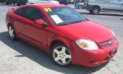 To learn more about the vehicle, please follow this link: http://used-auto-4-sale.com/108762308.html ***CLEAN VEHICLE HISTORY REPORT*** and ***PRICE REDUCED***. Cobalt SS, ECOTEC 2.4L I4 SFI DOHC, 5-Speed Manual, and Red. How economical is this! Just in,