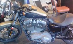 2007 Harley xln nighster. Only 3200m, flat black and army green . 1200 cc 7500 obo would consider trade. Call or text 6072153173