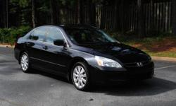 Hi Selling our Honda Accord EX-L Sedan. This is the v6 model, black exterior and interior. Comes fully loaded and is in very good condition. Has upgraded Honda OEM rims. Interior is clean with no rips or marks and exterior is clean as well. Has had brand