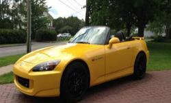 Enthusiasts shall understand finding a S2K in this configuration and condition is highly unlikely. The vehicle was purchased as a Honda Certified Used Car from Grainger Honda (Savannah, GA) with 12,425 Miles in 2011. In addition to transferable Certified