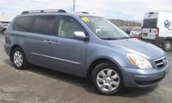 ***CLEAN VEHICLE HISTORY REPORT***, ***ONE OWNER***, and ***PRICE REDUCED***. Entourage Limited, 3.8L V6 DOHC 24V CVVT, Blue, and Leather. Put down the mouse because this 2007 Hyundai Entourage is the van you've been looking for. This outstanding