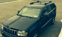 For sale: 2007 black Jeep Grand Cherokee V8 in excellent condition. Woman-owned, properly maintained by 40-year experienced auto mechanic. Runs great, and has always been safe in snow and rain. Roomy, clean, and powerful. Available to be seen, by