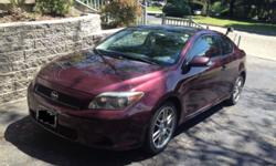 You are looking at a very good condition 2007 Scion tC. This car has 93,500 miles and has been a reliable and wonderful car to drive. The car runs great and was just serviced for an oil change and tire rotation. This car has been serviced on or before