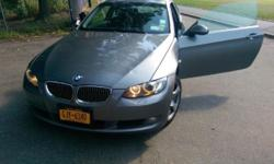 Up for sale is a sleek 2008 328xi Grey BMW 2 door Coupe with 112000 miles for $12000. I moved back to NYC and no longer have a need for a car. I've owned the car for a year and a half and am the 3rd owner. The car is in great condition and is a joy to