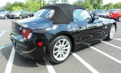 To learn more about the vehicle, please follow this link: http://used-auto-4-sale.com/108779449.html 2008 BMW Z4 3.0i, MP3 Compatible, USB/AUX Inputs, and Clean CarFax. Premium Package (4-Function On-Board Computer, 8-Way Power Seats w/3-Way Driver