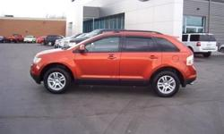 Low Mileage Ford Edge SEL in Blazing Copper Metallic! Power Windows and Locks, Alloy Rims, CD Player, Cruise and Tilt and More! Our Location is: Shepard Bros Inc - 20 Eastern Blvd, Canandaigua, NY, 14424 Disclaimer: All vehicles subject to prior sale. We