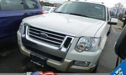 Trustworthy and worry-free, this pre-owned 2008 Ford Explorer Eddie Bauer makes room for the whole team and the equipment. It is well equipped with the following options: Sirius radio, moonroof, power adjustable pedals, leather interior, 4-pin wire