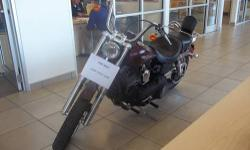 2008 Harley Davidson Street Bob 15,814 Miles Just completed 20,000 miles maintenance/service package at Thunderin Cycles. Has a brand new back tire. It drives and rides great. It has a 96ci engine in 6 speed. Located at Davidson Ford at 18621 US RT 11,