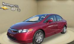 You'll always have an enjoyable ride whether you're zipping around town or cruising on the highway in this 2008 Honda Civic Sedan. This Civic Sedan offers you 63440 miles, and will be sure to give you many more. Call today to speak to any of our sale