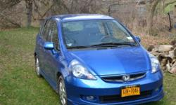 For Sale: 2008 Honda Fit Sport with 58762 Miles. Manual Transmission, 5 speed. $7300 Good Condition. Call 315.955.5866