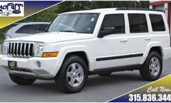 Check out this roomy SUV at a bargain price! We have fully serviced this Jeep including four new tires and much more - it is road ready! More pictures and details are available at: http://www.gofarr.com/detail-2008-jeep-commander-sport-used-8641354.html