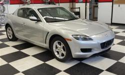 Check out this gently-used 2008 Mazda RX-8 we recently got in. A Mazda with as few miles as this one is a rare find. This RX-8 Sport was gently driven and it shows. At Prestige Motor Works, Inc, we strive to provide pre-owned vehicles that don't have a