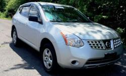 2008 Nissan Rogue S,AWD,has a clean carfax, no accidents,2 owners only,excellent condition in and out,silver exterior,black interior,very well maintained,182 K miles,mostly highways,no issues,no lights on,runs great and tuned up recently,ready for