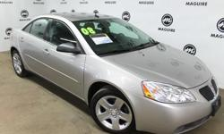 To learn more about the vehicle, please follow this link: http://used-auto-4-sale.com/108695764.html Come test drive this 2008 Pontiac G6! You'll appreciate its safety and technology features! This 4 door, 5 passenger sedan still has less than 80,000