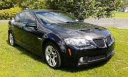 I'm selling a gorgeous, fully loaded Pontiac G8. This car is in excellent condition, has a little over 37,000 miles. It has a custom paint job with new tires, brakes, rotors and pads (front and rear). A must see to believe. It's a one of a kind with only