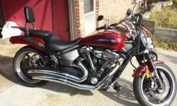 EXCELLENT CONDITION! LOTS OF MONEY INVESTED INTO THIS BIKE . IT HAS DRAG BARS, VANCE AND HINES PIPES , POWER COMMANDER, FORCE WINDER INTAKE, INTEGRATED BACK LIGHT, FRONT SPOILER, CHROME BELT GUARD , SISSY BAR, RUNS EXCELLENT, CLEAN TITLE , ONLY HAS 6,385