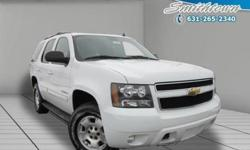 Designed to deliver a dependable ride with dazzling design this 2009 Chevrolet Tahoe is the total package! This Chevrolet Tahoe offers you 58866 miles and will be sure to give you many more. It's full of phenomenal features such as: 4WDroof rackside