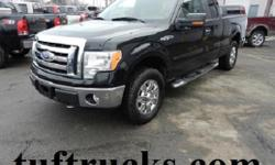 The F-150 is the most popular light duty truck going and the new body style is what everyone wants. Well here it is. This one is a very well equipped XLT with automatic, Split Seats, factory air conditioning, tilt wheel, cruise control, full power