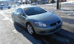 ***CLEAN VEHICLE HISTORY REPORT***, ***ONE OWNER***, and ***PRICE REDUCED***. Eclipse GS, 2.4L I4 SOHC MIVEC 16V, 4-Speed Automatic with Sportronic, and Gray. Creampuff! This stunning 2009 Mitsubishi Eclipse is not going to disappoint. There you have it,