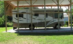 One owner, no pets, non smoking, kept under roof, 21,000 miles, excellent condition. Also have tow vehicle and tow package available and lots of accessories.