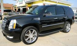 ***HERE IT IS FOLKS!!! THE LOWEST PRICED UNDER 50000 MILE 2010 CADDY ESCALADE ON THE PLANET!!! BEST COLOR COMBO AND LOADED WITH ALL THE GOODIES!! CALL TODAY TO SCHEDULE A TEST DRIVE. THIS ONE IS GOING TO GO FAST!!! Disclaimer: Prices exclude vehicle