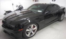 2010 Supercharged Camaro 2SS has TV?s 2300 supercharger,160 degree thermostat, Hennessey cold air intake, MTI racing plug wires, full Borla exhaust system with long tube headers, MTI short throw shifter, Hotchkis 4-point strut tower brace, Hotchkis stage