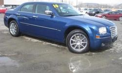 ***CLEAN VEHICLE HISTORY REPORT***, ***ONE OWNER***, ***PRICE REDUCED***, and SUNROOF AND NAVIGATION. 300 Touring Signature Series, 3.5L V6 MPI 24V High-Output, AWD, Blue, and Leather. Creampuff! This handsome 2010 Chrysler 300 is not going to disappoint.