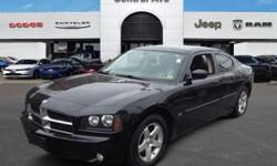 DODGE CERTIFICATION INCLUDED!! NO HIDDEN FEES!! SPORTY!! FAST!! This outstanding example of a 2010 Dodge Charger SXT is offered by Central Avenue Chrysler. This beautiful Brilliant Black Pearl Charger SXT qualifies for the CARFAX BuyBack Guarantee. Just