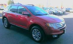 Come see this 2010 Ford Edge SEL. It has an Automatic transmission and a Gas V6 3.5L/213 engine. This Edge has the following options: Reverse sensing park assist system, AM/FM stereo w/6-disc in-dash CD changer -inc: MP3 playback, (4) speakers,