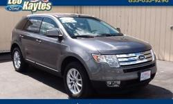 To learn more about the vehicle, please follow this link: http://used-auto-4-sale.com/108577877.html 2010 Ford Edge SEL in Sterling Gray Metallic. One Owner, All Wheel Drive. AM/FM CD/MP3 Player with Satellite Radio and Auxiliary Input Jack, 18 Painted