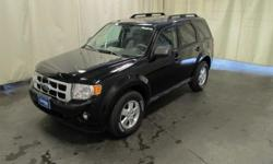 To learn more about the vehicle, please follow this link: http://used-auto-4-sale.com/108312680.html BLUETOOTH/HANDS FREE CELL PHONE. AWD. Jet Black! Like new. Imagine yourself behind the wheel of this handsome 2010 Ford Escape. Visibility is a stand out