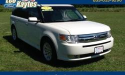 To learn more about the vehicle, please follow this link: http://used-auto-4-sale.com/108737301.html 2010 Ford Flex SEL in White Suede, Bluetooth for Phone and Audio Streaming, All Wheel Drive, Heated Leather Seats, Power Liftgate, Sony Premium 12 Speaker