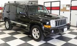 Looking for a clean, well-cared for 2010 Jeep Commander? This is it. Enjoy an extra level of confidence when purchasing this Commander Limited, it's a CARFAX One-Owner. The CARFAX report shows everything you need to know to confidently make your pre-owned