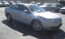 ***CLEAN VEHICLE HISTORY REPORT***, ***ONE OWNER***, and ***PRICE REDUCED***. Duratec 3.5L V6 DOHC 24V, AWD, White, and Leather. Set down the mouse because this beautiful 2010 Lincoln MKZ is the low-mileage car you've been longing for. This outstanding