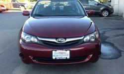 To learn more about the vehicle, please follow this link: http://used-auto-4-sale.com/108681881.html 2010 Subaru Impreza 2.5i in Camellia Red Pearl, 5 Speed Manual Transmission, AM/FM CD, and All Wheel Drive. 4-Wheel Disc Brakes, Air Conditioning, Power