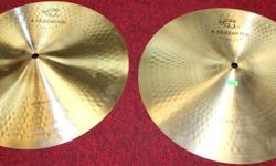 "Zildjian 14"" A Zildjian Vintage CIE Hi-Hats One Of The Limited Rarities For 2010 Zildjian has dug through their vaults, made some amazing prototypes and resurrected some of the great cymbals of the past that are now being offered, some for the first time"