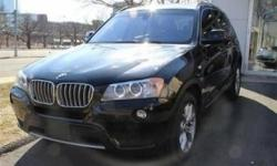 ONE OWNER.CLEAN CAR FAX.Racy yet refined, this 2011 BMW X3 will envelope you in well-engineered charisma and security. It comes equipped with these options: Electronic throttle control, Privacy glass, xDrive all-wheel-drive system, Hill Descent Control