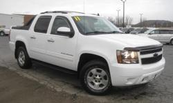 ***CLEAN VEHICLE HISTORY REPORT***, ***ONE OWNER***, and ***PRICE REDUCED***. Avalanche 1500 LT LT1, 4D Crew Cab, 6-Speed Automatic, 4WD, and White. Set down the mouse because this 2011 Chevrolet Avalanche 1500 is the truck you've been looking for. Why