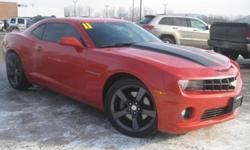 ***CLEAN VEHICLE HISTORY REPORT*** and ***PRICE REDUCED***. Camaro SS 1SS, 6.2L V8 SFI, 6-Speed Manual, and Orange. Start your engines! You are looking at a positively fiery 2011 Chevrolet Camaro that is ready for you to put the pedal to the metal.