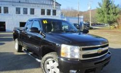 ***CLEAN VEHICLE HISTORY REPORT***, ***ONE OWNER***, and ***PRICE REDUCED***. Silverado 1500 LTZ, 6-Speed Automatic, 4WD, Black, and Leather. The Silverado 1500 gives a nod to those who work hard for their keep. New Car Test Drive said, ...a smooth ride