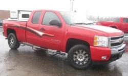 ***CLEAN VEHICLE HISTORY REPORT***, ***ONE OWNER***, and ***PRICE REDUCED***. Silverado 1500 LT, Vortec 5.3L V8 SFI VVT Flex Fuel, 6-Speed Automatic, 4WD, and Red. Put down the mouse because this stunning 2011 Chevrolet Silverado 1500 is the low-mileage