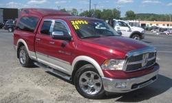 To learn more about the vehicle, please follow this link: http://used-auto-4-sale.com/108762266.html ***CLEAN VEHICLE HISTORY REPORT*** and ***PRICE REDUCED***. Ram 1500 Laramie, 4D Quad Cab, HEMI 5.7L V8 Multi Displacement VVT, 5-Speed Automatic, and