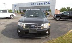 To learn more about the vehicle, please follow this link: http://used-auto-4-sale.com/108450465.html MOONROOF/SUNROOF, LOCAL TRADE, 4WD AWD, SYNC BLUETOOTH, and CLEAN CARFAX. Sun & SYNC Package (Ford SYNC and Moonroof), Escape XLT 4WD, Duratec 3.0L V6