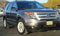 Look at this 2011 Ford Explorer XLT. It has an Automatic transmission and a Gas V6 3.5L/213 engine. This Explorer features the following options: 6-speed SelectShift automatic transmission, Pwr door locks, Hill start assist, Rear window defogger,