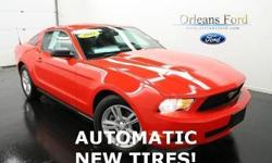 ***NEW TIRES***, ***AUTOMATIC***, ***CLEAN ONE OWNER CARFAX***, ***ALUMINUM WHEELS***, and ***WE FINANCE MUSTANGS!! ***. Wild Horses! Detroit Muscle! Want to save some money? Get the NEW look for the used price on this one owner vehicle. Previous owner