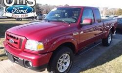Check out this 2011 Ford Ranger Sport. It has an Automatic transmission and a Gas V6 4.0L/245 engine. This Ranger has the following options: 58-amp (540 CCA) battery, Glove box, Dome light, Rear jump seats, Center front lap belt, SecuriLock anti-theft