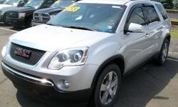 To learn more about the vehicle, please follow this link: http://used-auto-4-sale.com/108762321.html ***CLEAN VEHICLE HISTORY REPORT*** and ***PRICE REDUCED***. Acadia SLT-1 7 Passenger, 3.6L V6 SIDI, 6-Speed Automatic Electronic with Overdrive, AWD,