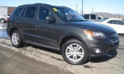 ***CLEAN VEHICLE HISTORY REPORT***, ***ONE OWNER***, ***PRICE REDUCED***, and SUNROOF. Santa Fe Limited, 3.5L V6 DOHC 24V, AWD, and Gray. Creampuff! This attractive 2011 Hyundai Santa Fe is not going to disappoint. There you have it, short and sweet! It